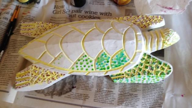 Handcarved Turtle